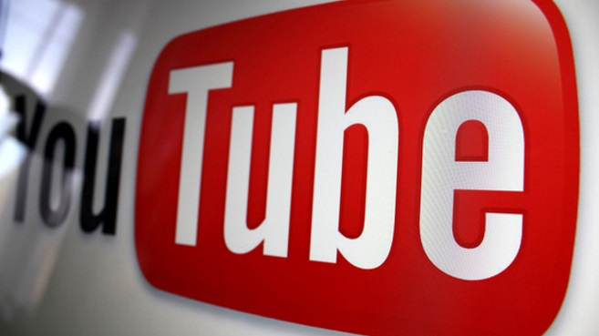 YouTube video logo