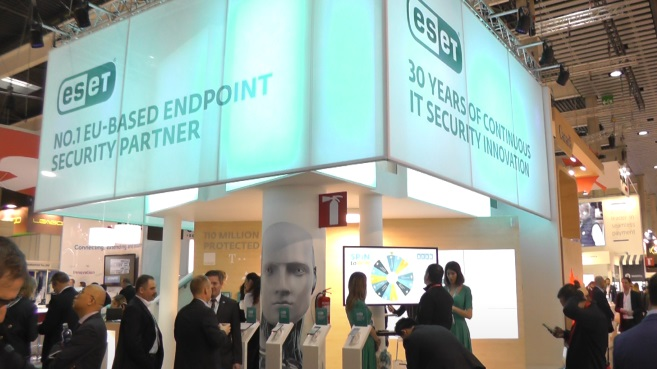 ESET MWC 2018 stand