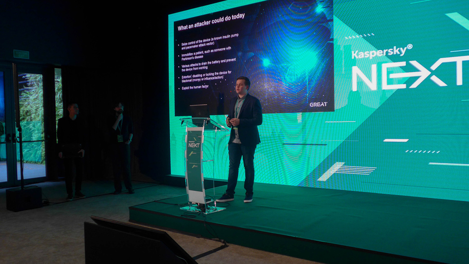Dmitry Galov, Kaspersky