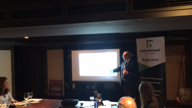 Fabiano Finamore, Forcepoint