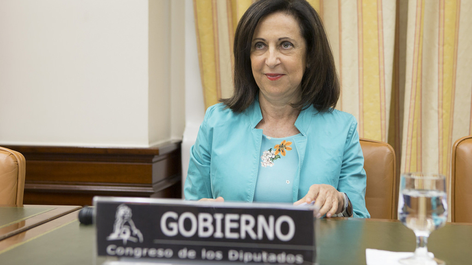 Margarita Robles, ministra de Defensa.